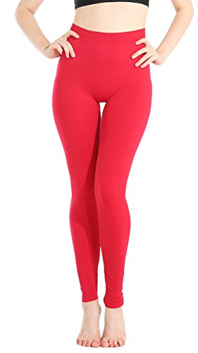 JQ JQAMAZING Womens Seamless Buttery Soft Tights and Leggings Slimming Compression Leggings…