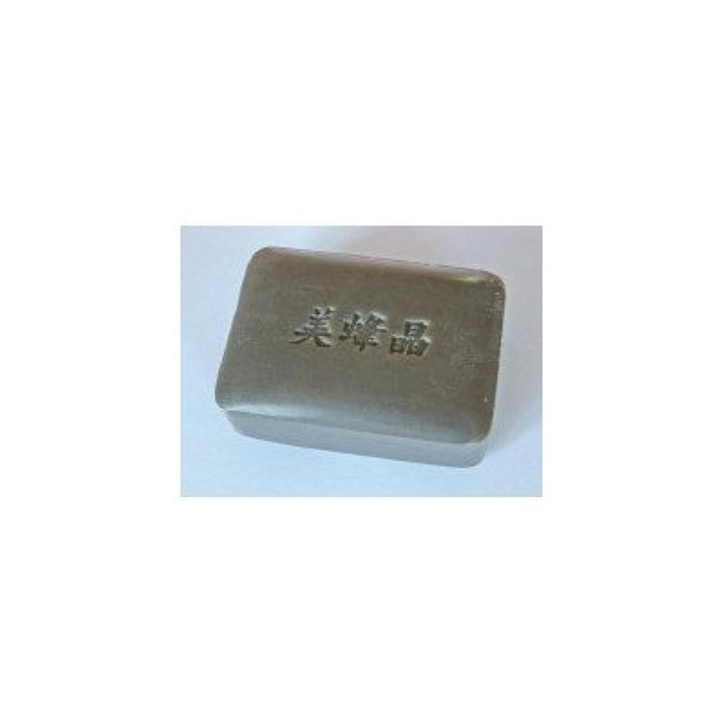 敬礼のホスト粘着性プロポリスエキス配合の洗顔用石鹸 鈴木養蜂場 プロポリス石鹸 美蜂晶100g 2個セット