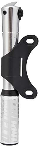 Truflo Road CNC hogedruk mini pomp met vaste kop, alleen presta. zilver.