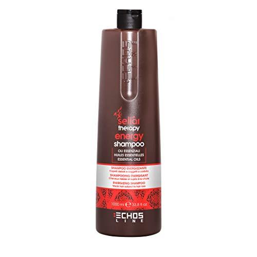 Echosline Energy Shampoo 1000 ml Seliar Therapy Echos Line Essential Oils Weak Hair Loss