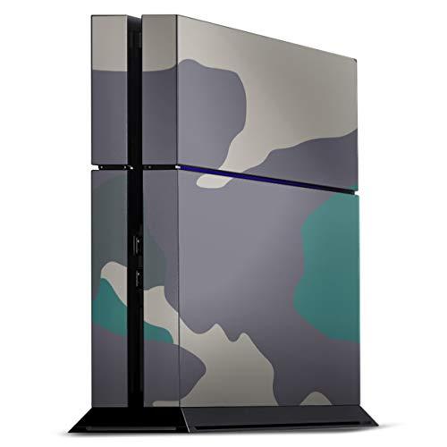 DeinDesign Skin kompatibel mit Sony Playstation 4 PS4 Folie Sticker Camouflage Bundeswehr Muster