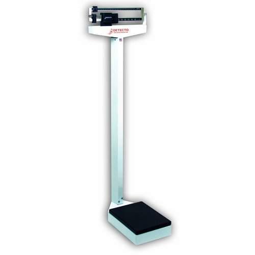 Detecto 337 Dual Reading Eye Level Physicians Scale without Height Rod