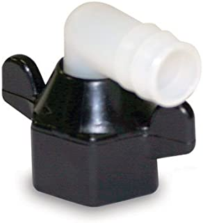 SHURFLO 244-3926 Elbow Fitting Wingnut Swivel-Nylon 14 Npt (F) X 1/2