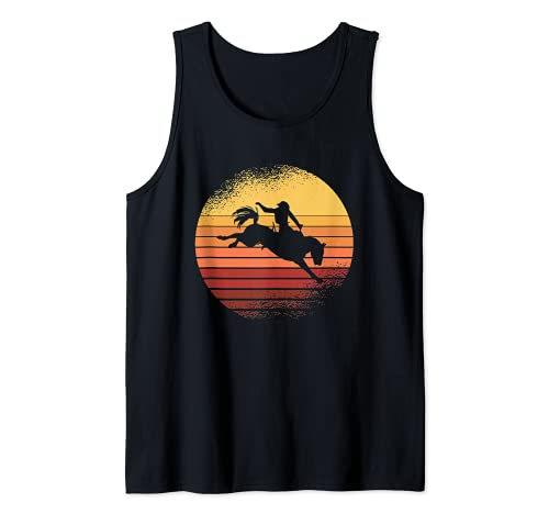 Vintage Western I Rodeo I Vaquero I Caballos Camiseta sin Mangas