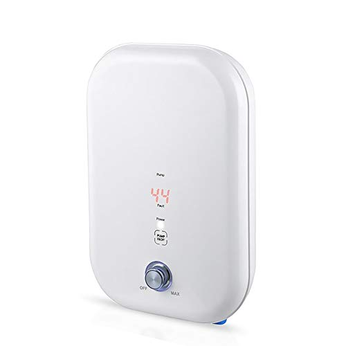 SalmophC Calentador de Agua eléctrico instantáneo Mini Calentador de Agua eléctrico con...
