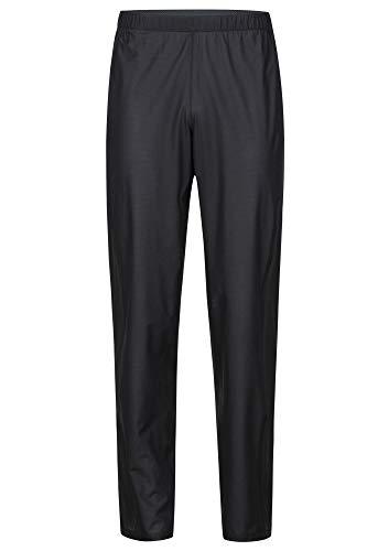 Marmot Herren Hardshell Regenhose, Winddicht, Wasserdicht, Atmungsaktiv Bantamweight Pant, Black, XXL, 31600