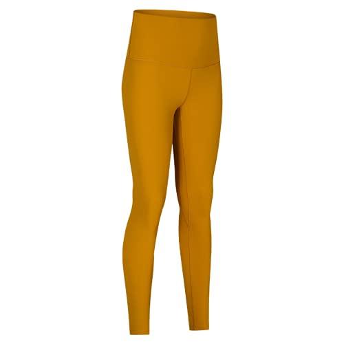 QTJY Pantalones de Yoga de Cintura Alta para Mujer, Leggings, Pantalones de Fitness al Aire Libre, Pantalones Deportivos elásticos de Secado rápido, Pantalones de Yoga FM