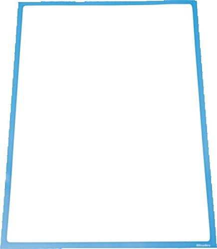 Ultradex 889107 Infotasche magnetisch für DIN A3, blau