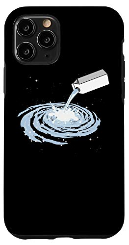 iPhone 11 Pro Milkyway Milk Carton Universe Space Galaxy Stars Moon Gift Case