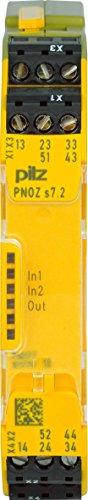Pilz Kontakterweiterung PNOZ s7.2#750177 24VDC4n/o1n/c Expand Gerät zur Überwachung von sicherheitsgerichteten Stromkreisen 4046548052527