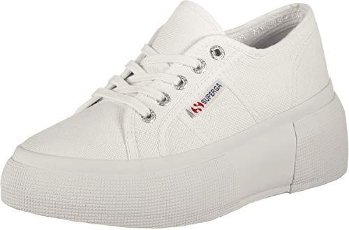 Superga 2287-cotw, Zapatillas de Gimnasia Mujer, Blanco (White 901), 40 EU