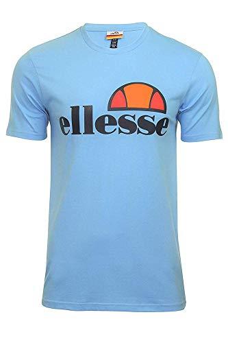 Ellesse Prado Camiseta, Hombre, Light Blue, M