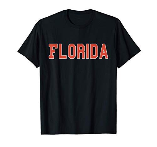 Florida FL vintage Athletic Sport University & College gift T-Shirt