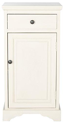 Safavieh Seitenschrank, Holz, weiß, 40 x 33 x 78.74 cm