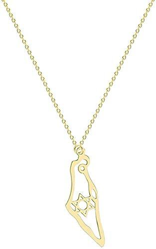 Yiffshunl Collar Collar de Moda Dorado para Mujer Collar en Forma de Alas Colgante de ángulo Geométrico Declaración de pájaro Collar de joyería Regalo Infinito para niñas