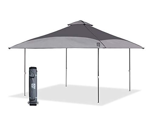 E-Z UP SCSG13GY 13' Spectator Instant Shelter, Gray Dual Tone