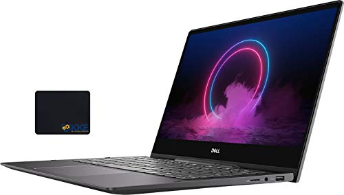 "Dell Newest Inspiron 13.3"" 7000 2-in-1 High Performance Laptop, 4K Ultra HD Touchscreen, Intel Core i7-10510U Processor up to 4.9GHz, 16GB RAM, 512GB SSD+32GB Optane, Active Pen, Win10, KKE Mousepad"