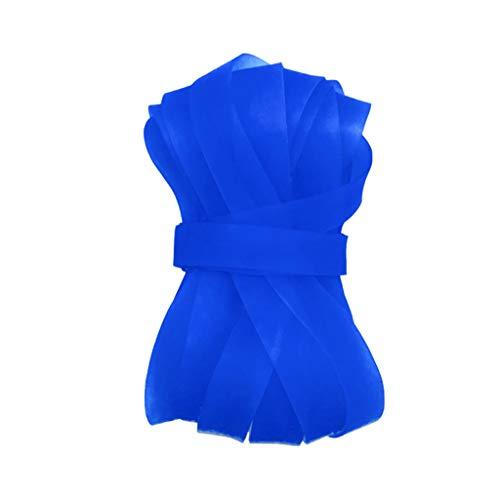 Andouy 5/7/10/15/20M Länge Gymnastik Springseil Sprungseil Hüpfseil Seilspringen Springschnur Rope Skipping Ropes für Seilspringen, Boxen, Training und Fitness(15M.Blau)