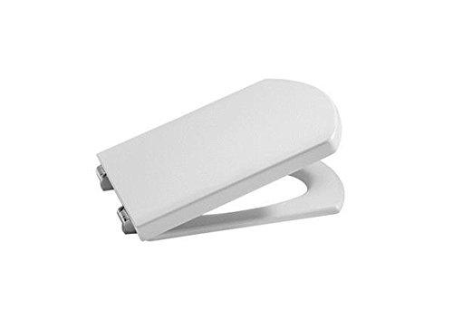pequeño y compacto Roca A801620004 Asiento y tapa de inodoro, blanco