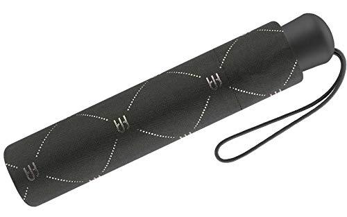ESPRIT Taschenschirm mit Monogram-Print