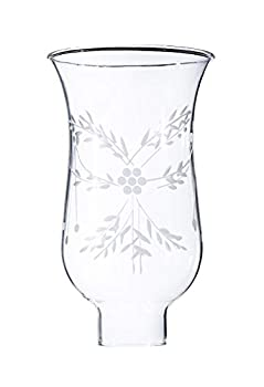 B&P Lamp 1 5/8 Inch by 6 1/2 Inch Cut Flower Hurricane Shade