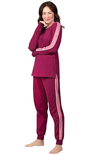 Addison Meadow Womens Pajama Sets - Sweatsuits for Women, Side Stripe