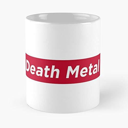 Hockey Heavy Metal Deicide Death Cannibal Behemoth Corpse Obituary Thrash Best 11 oz Kaffeebecher - Nespresso Tassen Kaffee Motive