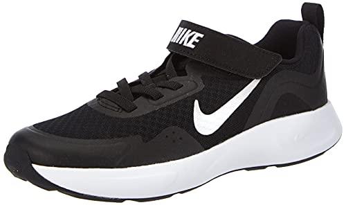 Nike Wearallday, Zapatillas para Correr, Negro Blanco, 31 EU