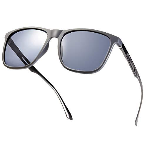 MUCO Anni 80 polarizzati Occhiali da sole alla Moda Retrò Classici Alla Moda Occhiali da sole Polarizzati Occhiali Da Guida Tonalità per Uomo Donna