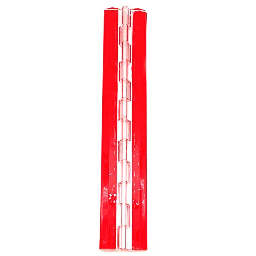 Bisagras de plástico acrílico transparente de 300 mm para piano continuo, autoadhesivas, 12 pulgadas, 1 paquete para caja transparente, soporte de exhibición, etc.