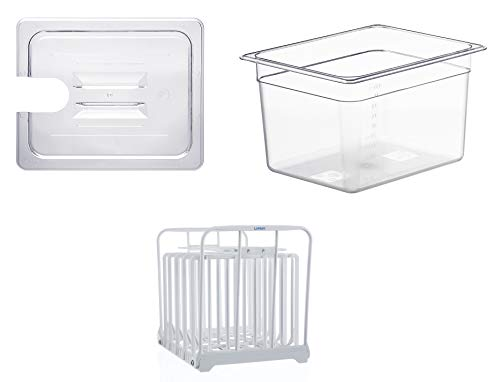 LIPAVI C10 Container with Lid and Rack - 12 quart...