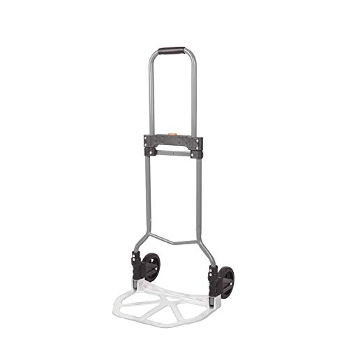 Carretilla de aluminio plegable carretilla de mano profesional | plegable 70 kg...
