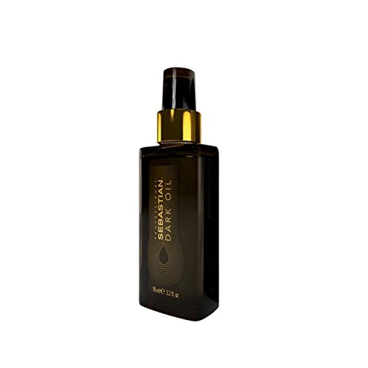そのホイップメイトセバスチャン?プロダーク油スタイリングオイル(95ミリリットル) x4 - Sebastian Professional Dark Oil Styling Oil (95ml) (Pack of 4) [並行輸入品]