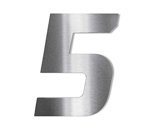 Hochwertige Edelstahl V2A Hausnummer