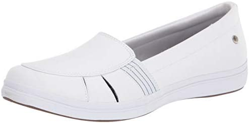 Grasshoppers Women s Janis Fisherman Twill Sneaker White 8 M US product image