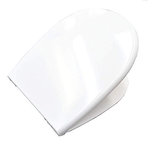 Sedile originale chiusura rallentata per wc GRACE Ceramica Globo - GR022BI