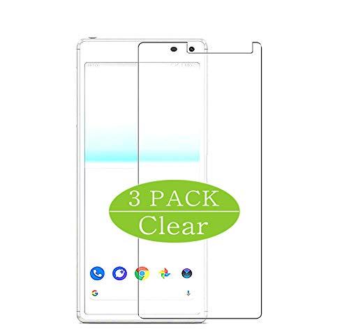 VacFun 3 Piezas HD Claro Protector de Pantalla Compatible con Sony Xperia 8 Lite, Screen Protector Película Protectora(Not Cristal Templado)