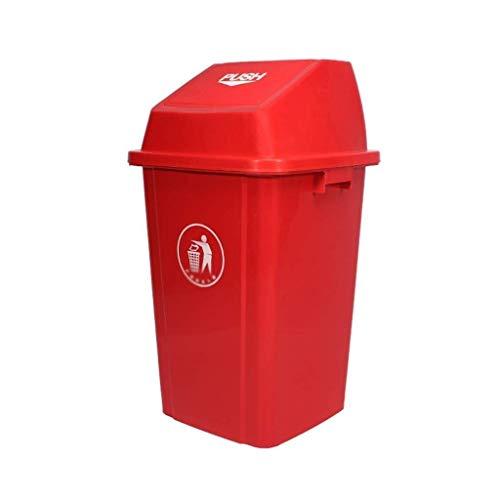 Vuilnisbak, vuilnisbak afvalverwijdering, vuilnisbak buiten vuilnisbak vuilnisbak keuken Park Street Hotel (Kleur: Groen, Grootte: 60L)