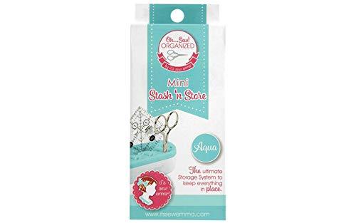 Read About It's Sew Emma ISE745 Aqua OSO Stash 'n Store Mini