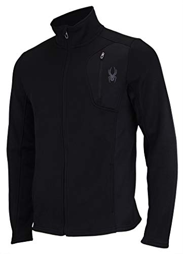 Spyder Men Raider Full Zip Sweater Black Size M