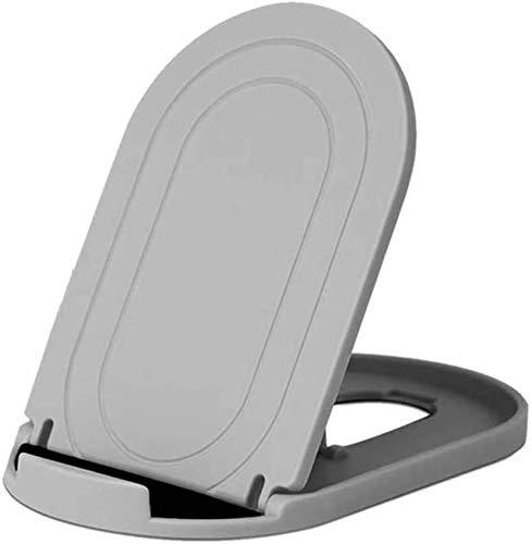 MYLB foldable phone stand, Multi-Angolo supporto telefono regolabile, Universale porta cellulare da tavolo per Phone 11 pro max,se2020, Huawei, Samsung Altri 4 a 10 pollici Smartphone e tablet -Grigio