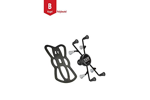 RAM Mounts X-Grip Universal Holder for 7-8 Inch Tablets with B-Ball (1 Inch)