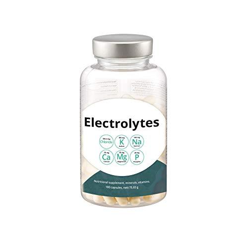 Swiss Point Of Care Elektrolyte Mix | 180 vegane Kapseln | optimal abgestimmte Elektrolytmischung zur Mineralstoffversorgung für Sport, Fitness oder während einer Keto-Diät | Paleo, vegan, Low Carb