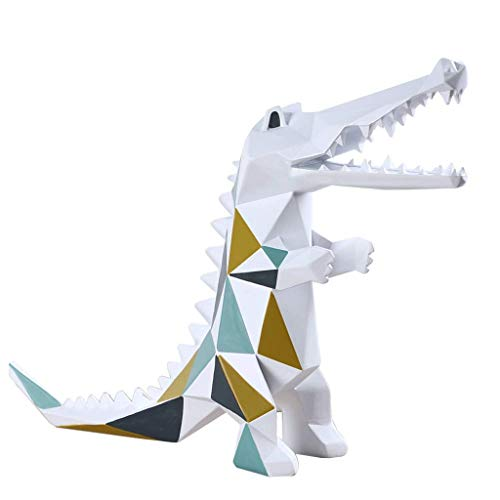 SHYPT Skulptur Moderne minimalistische geometrische Krokodil Ornamente Wohnzimmer Weinschrank Shop Probe Raumdekoration