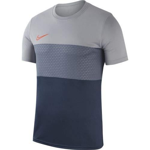 Nike Dry Academy - Maglietta da Uomo, Uomo, AJ9998, Wolf Grey/Armory Blue/Hyper CR, XXL