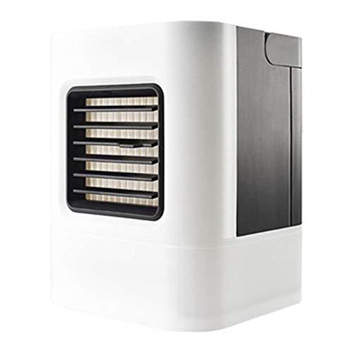 TIZJ Mini USB humidificador de Aire Acondicionado portátil purificador Plus llevó la Lightair Ventilador de refrigeración del refrigerador de Aire del Ventilador for el Ministerio del Interior