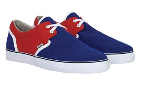 HUF Skateboard Schuhe Genuine- Navy/Rot/Weiß, Schuhgrösse:42