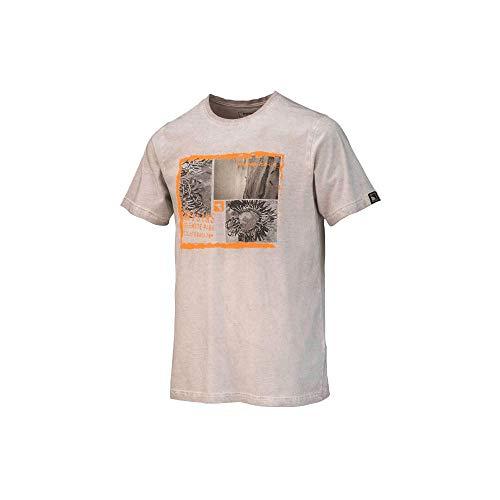 Trangoworld Camiseta CARABI, Boulder, Bleu Lapis-Lazuli, XX-Large