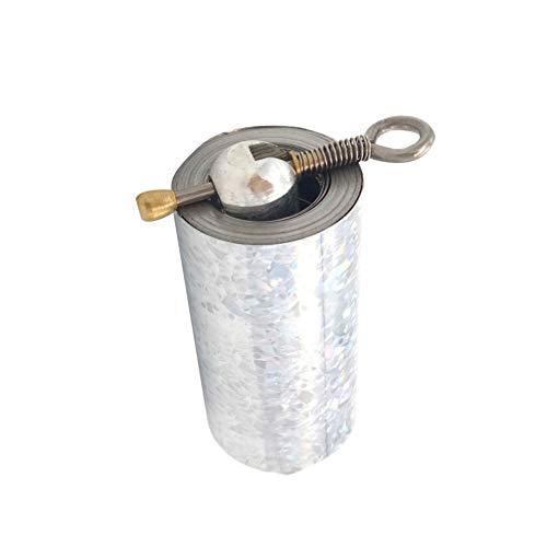 Garneck Tasche Professionelle Zauberstab Tragbare Magische Teleskop Requisiten Mini Stahl Zauber Requisiten 1 5 M (Silber)
