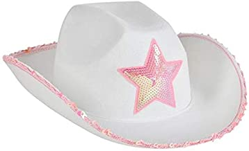 Rhode Island Novelty Kids' Western Hat with Sequin Trim and Star